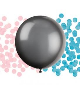 Ballon surprise pour shower avec confettis