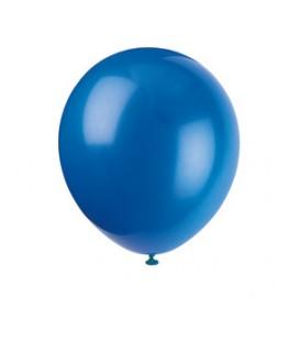 Ballon en latex bleu royal