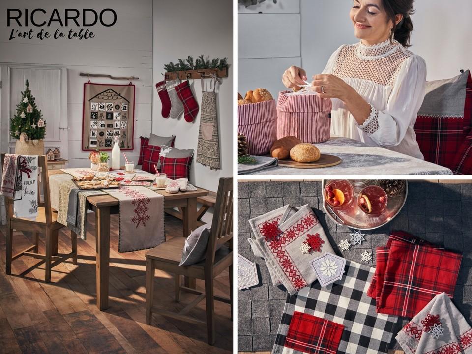 L'art de la table Noël RICARDO
